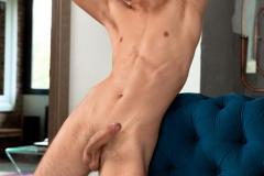 Young-hottie-dude-Pascal-Mauri-strips-naked-jerking-big-bent-uncut-cock-Belami-5-porno-gay-pics