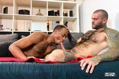 Big-hairy-muscle-hunk-Markus-Kage-bareback-fucking-black-stud-Trent-King-hot-hole-Men-002-gay-porn-pics