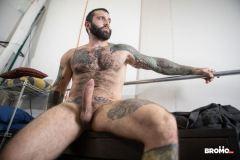 Bearded-muscle-man-Markus-Kage-knees-sucks-Bo-Sinn-huge-dick-Bromo-013-gay-porn-pics