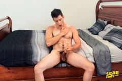 Hairy-young-muscle-hunk-Archie-wanks-huge-dick-spraying-jizz-six-pack-abs-Sean-Cody-012-gay-porn-pics
