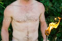 Hottie-red-headed-Island-Studs-Russ-strokes-huge-thick-cock-outdoors-piss-shooting-jizz-006-gay-porn-pics