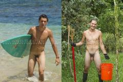 Hottie-ripped-surfer-dude-Darren-strips-naked-stroking-huge-9-inch-cock-pissing-outdoors-4-porno-gay-pics